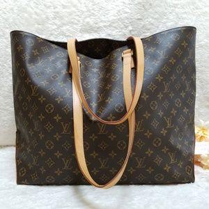 Louis Vuitton Cabas Alto Tote Bag Monogram